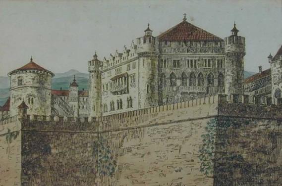 Castle Battlements (1910)